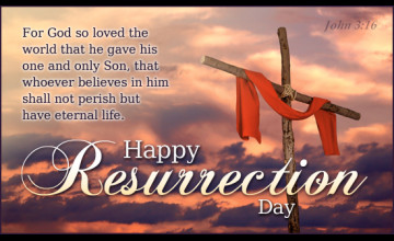 Happy Resurrection Day Wallpaper