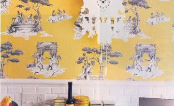 Harlem Toile de Jouy Wallpaper