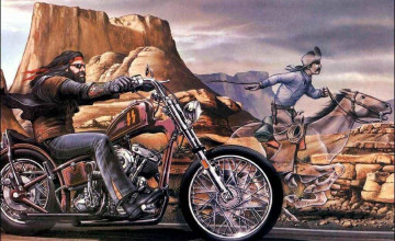 Harley Davidson Wallpaper for Walls