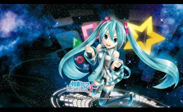 Hatsune Miku Android Wallpaper