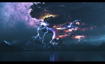 HD Lightning Storm Wallpaper