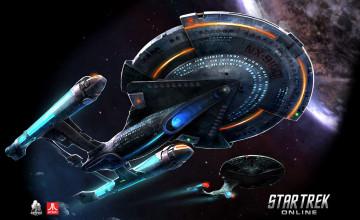 HD Star Trek Ships Wallpaper