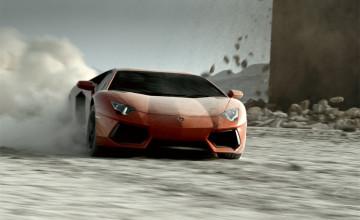 HD Wallpapers Lamborghini Aventador