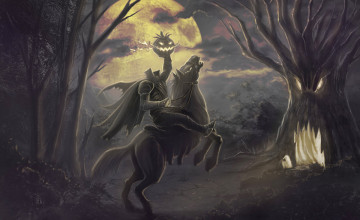 Headless Horseman Wallpaper