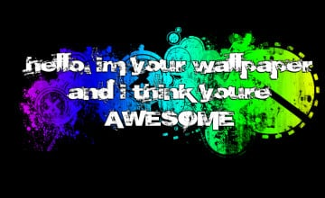 Hello Im Your Wallpaper