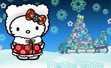 Hello Kitty Christmas Wallpapers