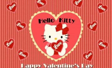Hello Kitty Valentine Wallpaper