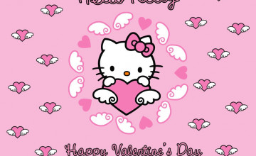 Hello Kitty Valentine\'s Day Wallpaper