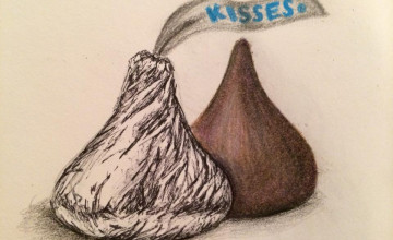 Hershey Kisses Wallpaper