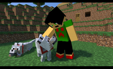Hey It\'s Your Minecraft Wallpaper