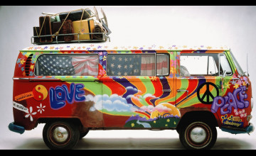 Hippie Van Wallpaper