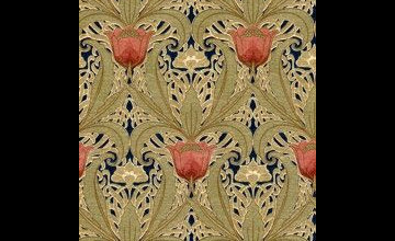 Historic Art Nouveau Wallpaper