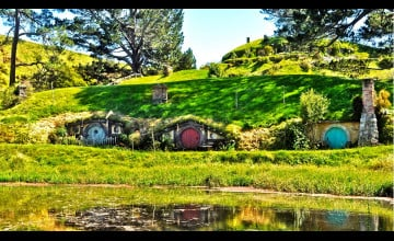 Hobbiton Wallpaper