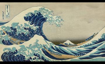 Hokusai Wallpaper
