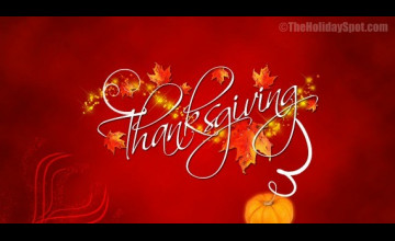 Holiday Spot Wallpaper Thanksgiving