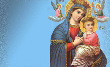 Holy Mary Mother Wallpapers