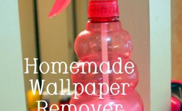 Homemade Recipe for Wallpaper Remover