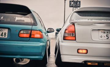 Honda Civic EG6 Wallpapers