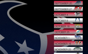 Houston Texans 2015 Schedule Wallpaper