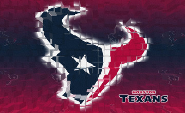 Houston Texans 3D Desktop Wallpaper