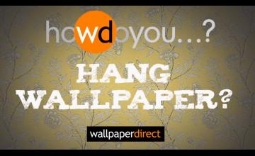 How Do You Hang Wallpaper