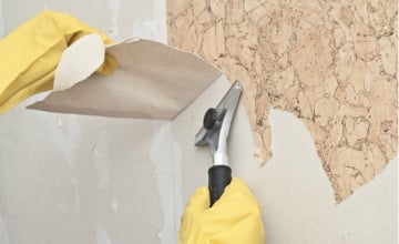 How to Clean Wallpaper Residue
