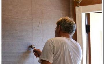 How to Hang Grasscloth Wallpaper