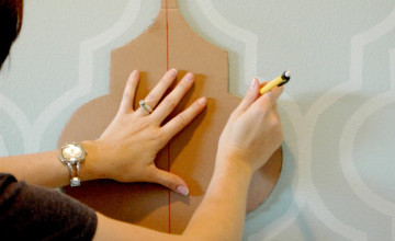 How to Paint Wallpaper Walls