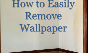 How to Remove Removable Wallpaper
