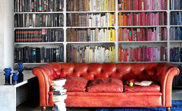 How to Wallpaper A Bookcase