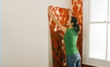 How to Wallpaper Prepasted