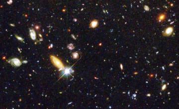 Hubble Deep Space Wallpaper