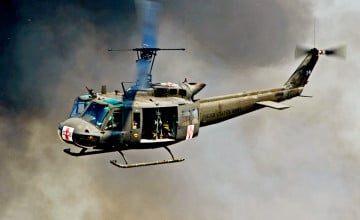 Huey Helicopter Wallpaper