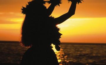 Hula Dancer Wallpaper