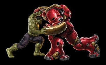 Hulk Vs Hulkbuster Wallpapers