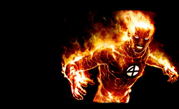 Human Torch Wallpaper