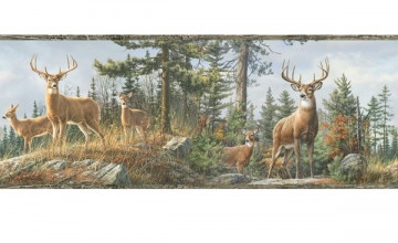 Hunting Wallpaper Border