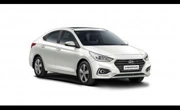 Hyundai Verna White Wallpapers
