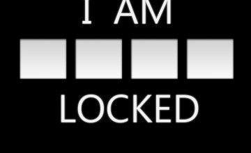 I AM Locked Wallpaper