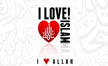 i love islam wallpaper