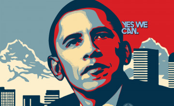I Love Obama Wallpaper