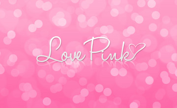 I Love Pink Wallpaper