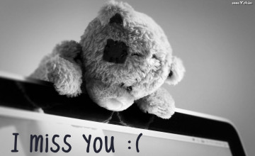 I Miss U Wallpaper