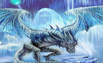 Ice Dragon Wallpaper
