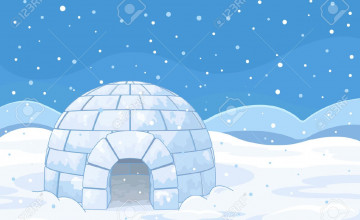 Igloo Background