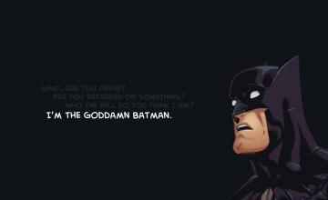 I'm Batman Wallpaper