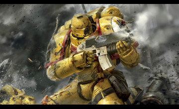Imperial Fists Wallpaper