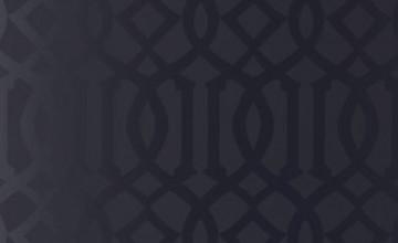 Imperial Trellis Onyx Gloss Wallpaper