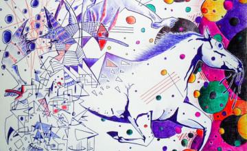 Indie Art Wallpaper