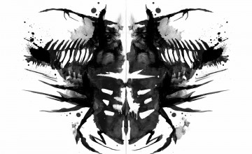 Inkblot Wallpaper
